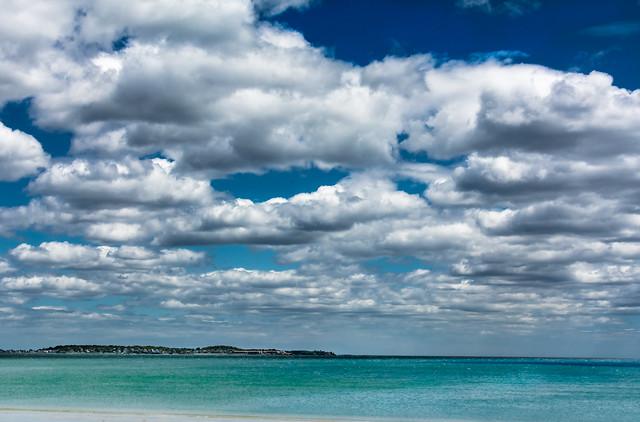 Clouds Drama @ beach