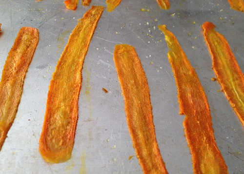 Irresistable Carrot Chip Sticks