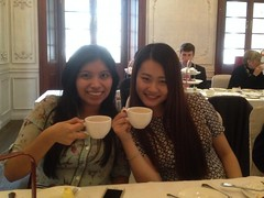 Jacqueline and Flaura High Tea Envoys 03 18 15