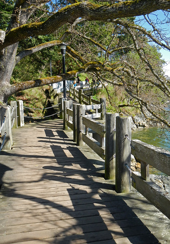Esquimalt board walk along the water