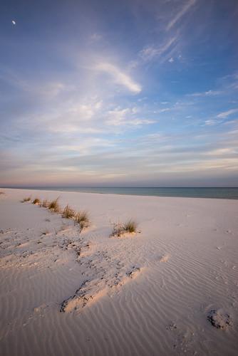 ocean sunset beach gulfofmexico water coast unitedstates florida pensacolabeach
