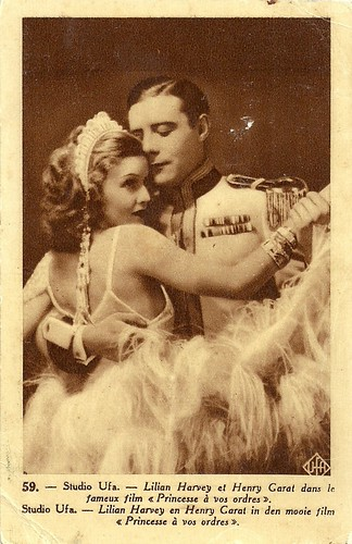 Lilian Harvey and Henry [Henri] Garat in Princesse, à vos ordres