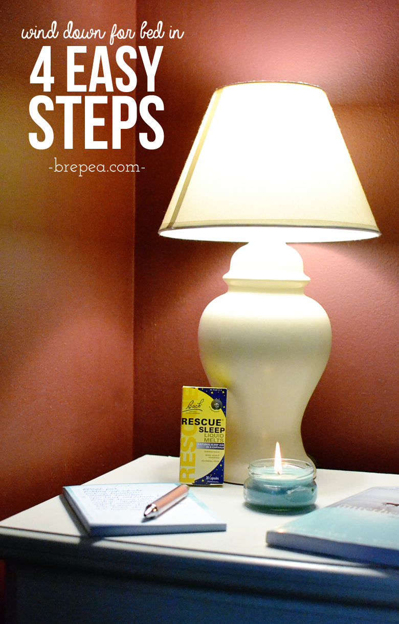 Have trouble falling asleep at night? I know I do. Find sleeping tips and wind down the right way with these 4 easy steps so you can fall asleep faster!