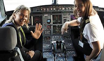 Sky Airline vuelo femenino (Sky Airline)