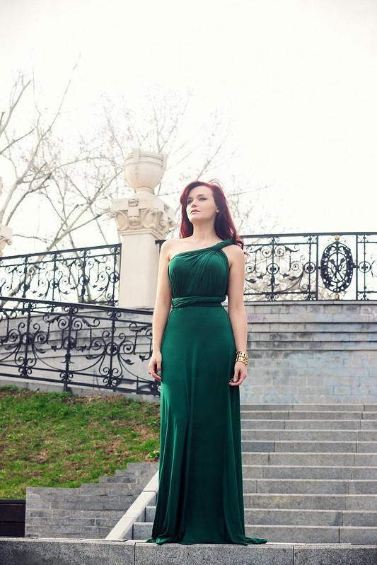 green maxi dress4