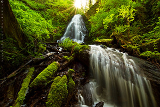 Fairy Falls, Columbia River Gorge 2015