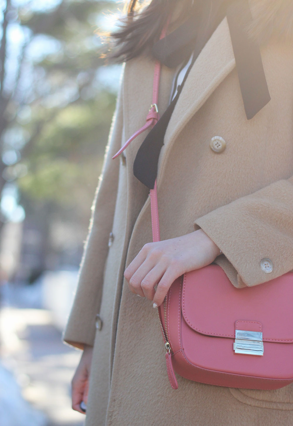 Pink crossbody from Forever 21