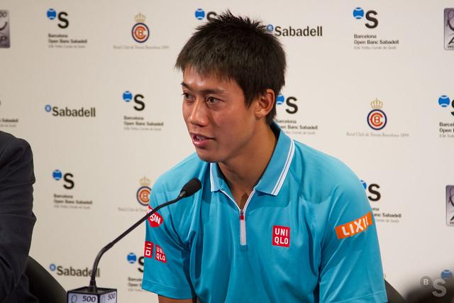 Rueda de prensa de Kei Nishikori tras la final