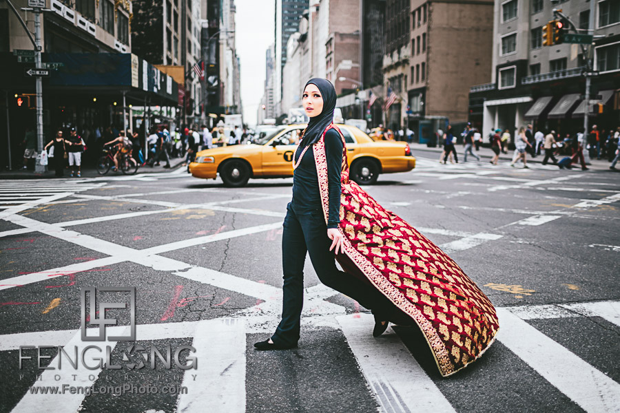 New York City Muslim Hijabi Fashion Photography
