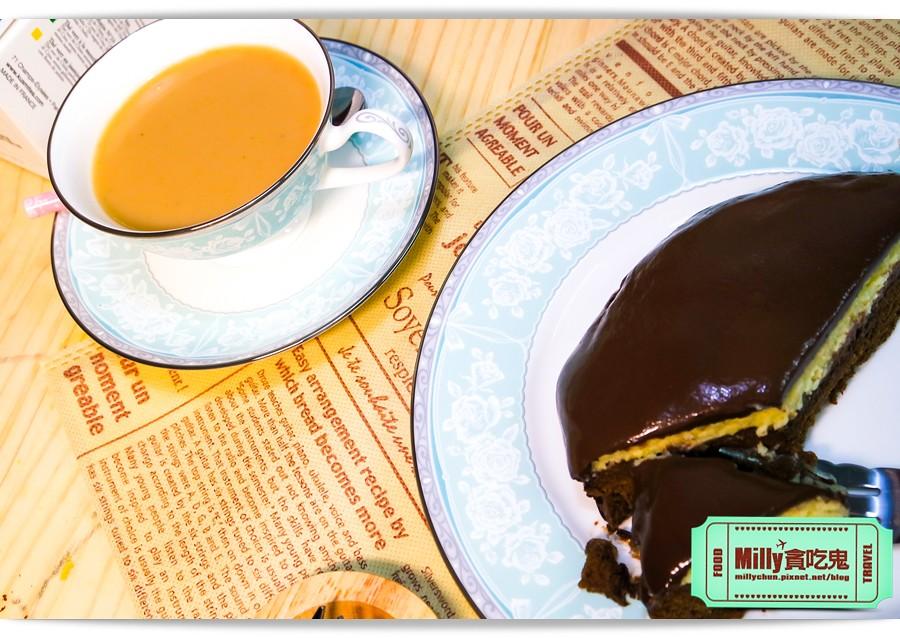 樂樂甜點超濃生巧克力布朗尼蛋糕0007