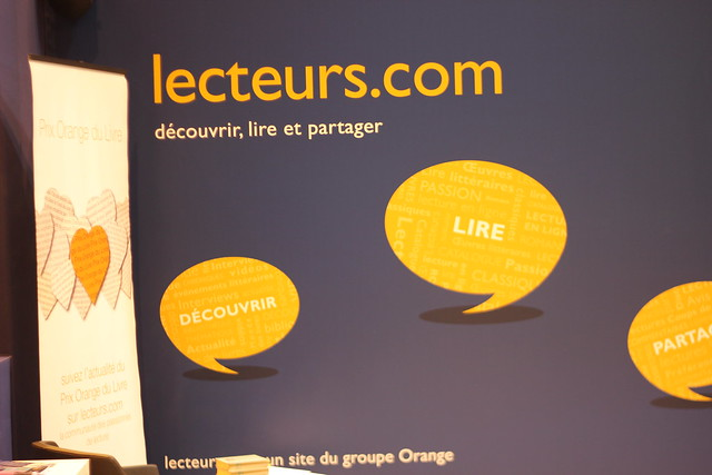 Lecteurs.com - Salon du Livre de Paris 2015