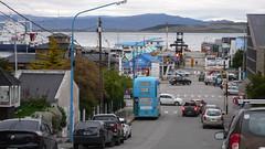 Ushuaia - port i centrum