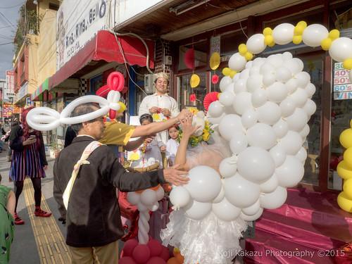 ブエノチキン 路上結婚式-120