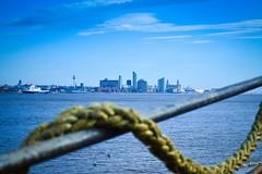 Liverpool, view from New Brighton promenade