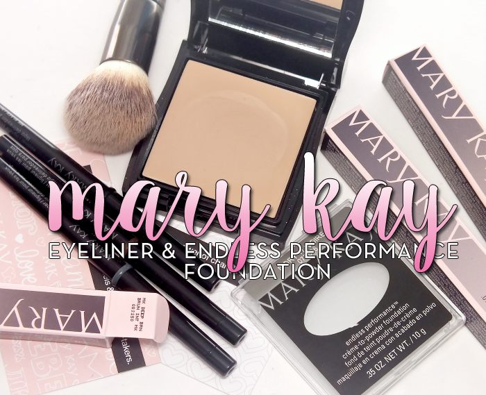mary kay eyeliner and endless performance foundation