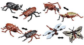 變變變!變身昆蟲 kabaya食玩新作