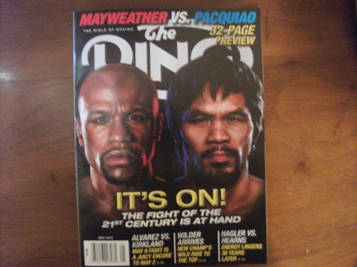 The Ring Magazine: Manny and Floyd