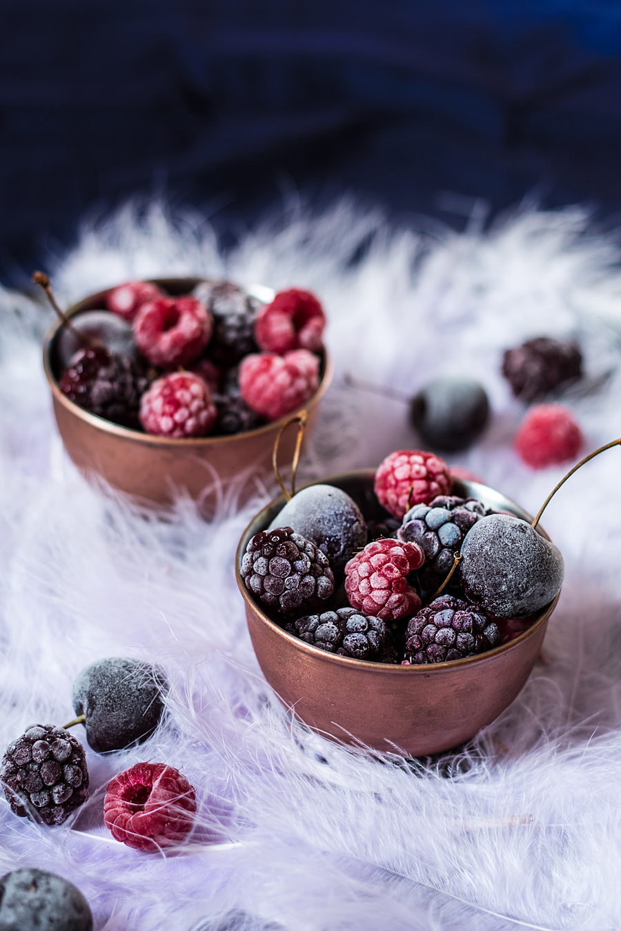 Blackberry frozen yoghurt cake | Lau Sunday cooks #foodphotography #foodstyling