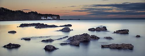 longexposure sunset panorama seascape 35mm canon landscape seaside waterfront fife sigma nd waterscape aberdour fifecoastalpath 1735 fifecoast grantmorris aberdourpier 5d3 grantmorrisphotography