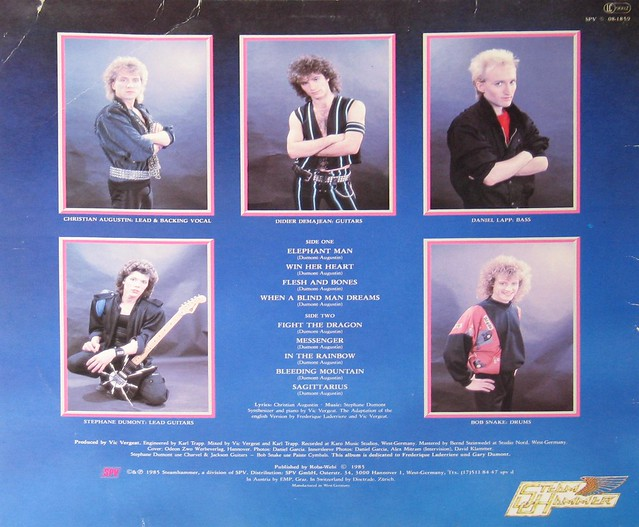 "SORTILÈGE HERO'S TEARS / LARMES DE HEROS 12"" Vinyl LP"