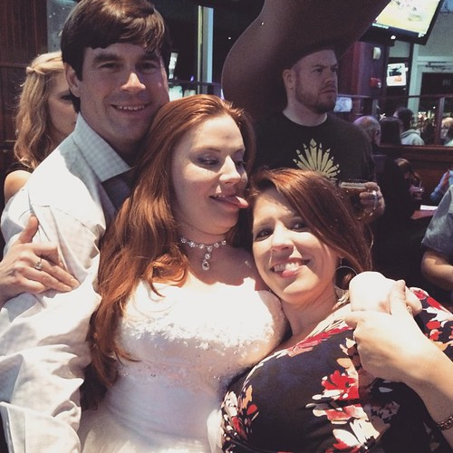 My beautiful cousin Cici got married yesterday & I have no idea what is happening in this picture, but it seems about right.