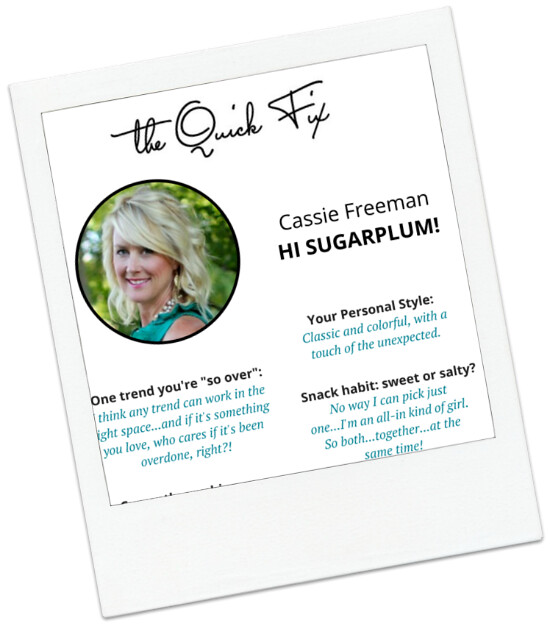 Hi Sugarplum | Quick Fix