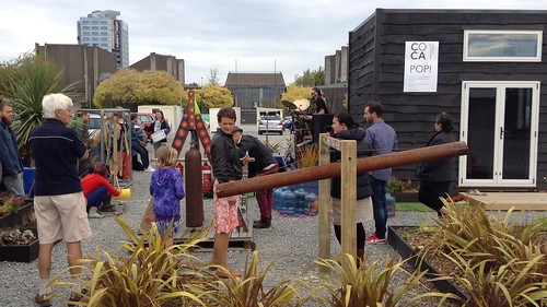 Opening of the Peterborough Street Sound Garden