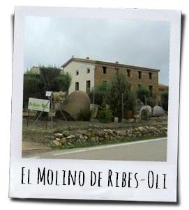 La Masía la Casa Blanca, de olijfmolen van Ribes-Oli