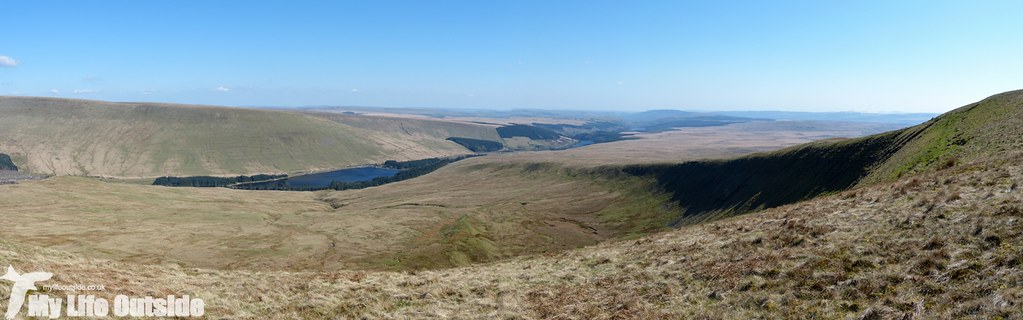 Fan Fawr and Fan Frynych Walk