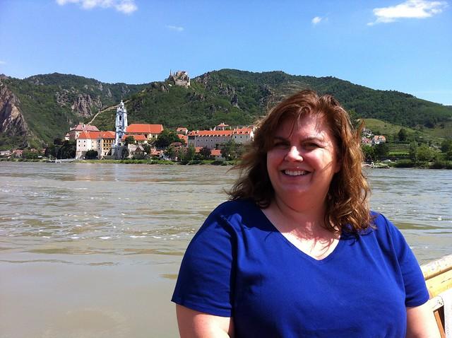 Gwen Kozlowski in Durnstein