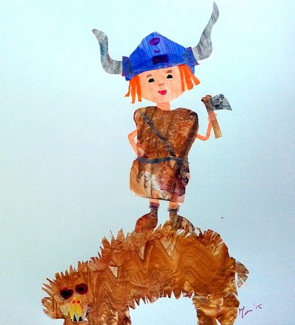 Warrior-for Illustration Friday