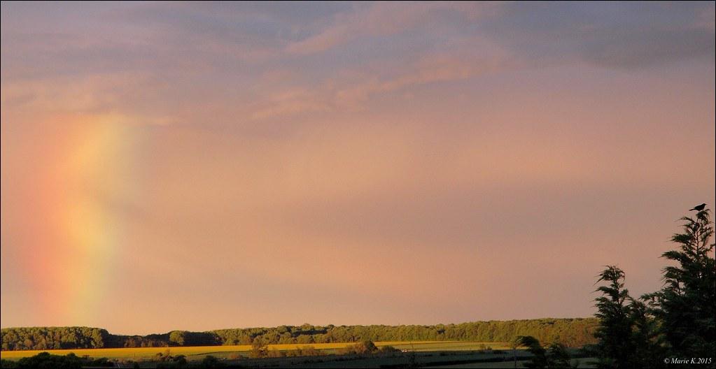 Arc en ciel du soir  fait beau temps prévoir 17150496637_45f230f9e1_b