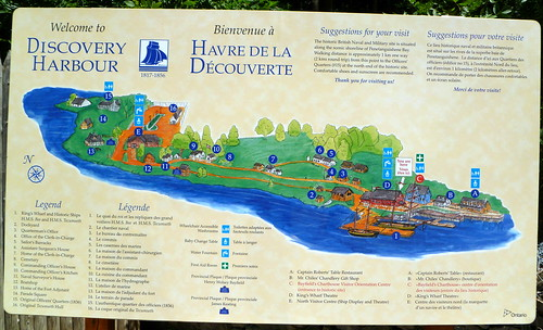 Discovery Harbour map