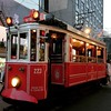 The historic Taksim tram