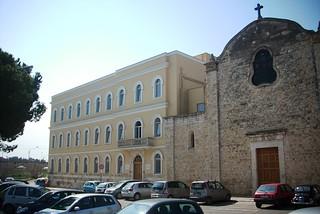 Noicattaro. Istituto Sant'Agostino front