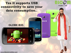 Bloom GLOBE B35 ,Yes It Supports USB Connectivity To Save Your Data Consumption