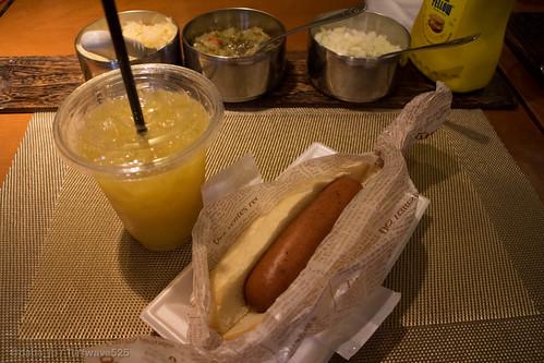 20150425 トーキョーカフェ&ベーカリー ホットドッグセット / Tokyo Cafe & Bakery