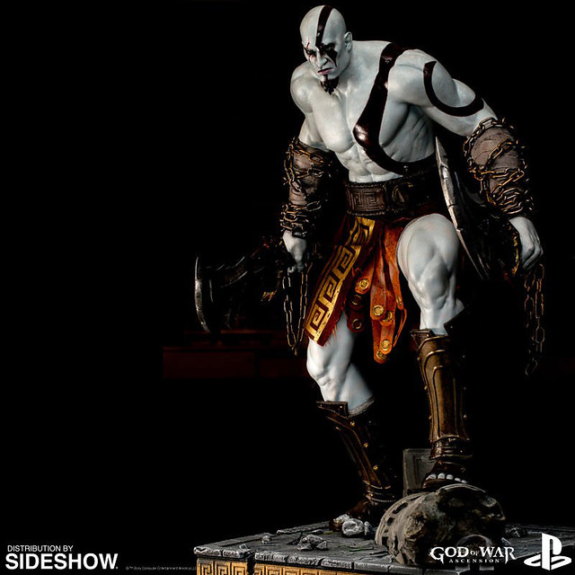 PlayStation【戰神:克雷多斯】God of War: Ascension Kratos 全身雕像作品