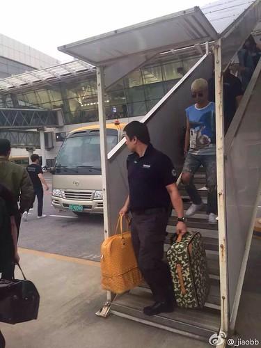 BIGBANG arrival Wuhan 2015-06-26 008