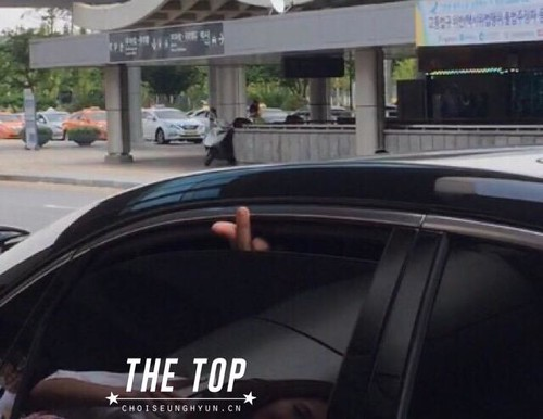 Big Bang - Gimpo Airport - 23aug2015 - The TOP - 04