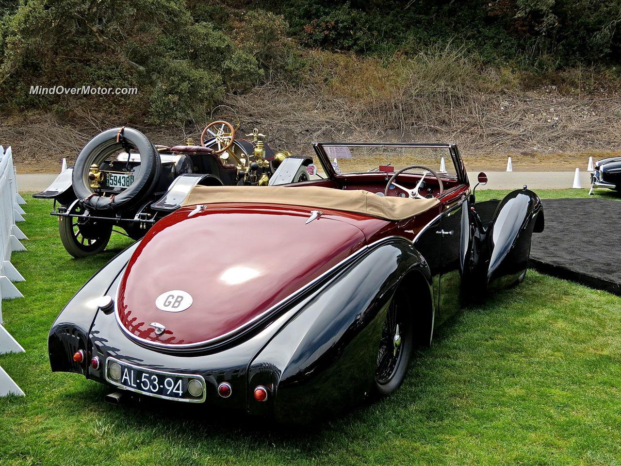 1938 Bugatti Type 57 Stelvio Rear