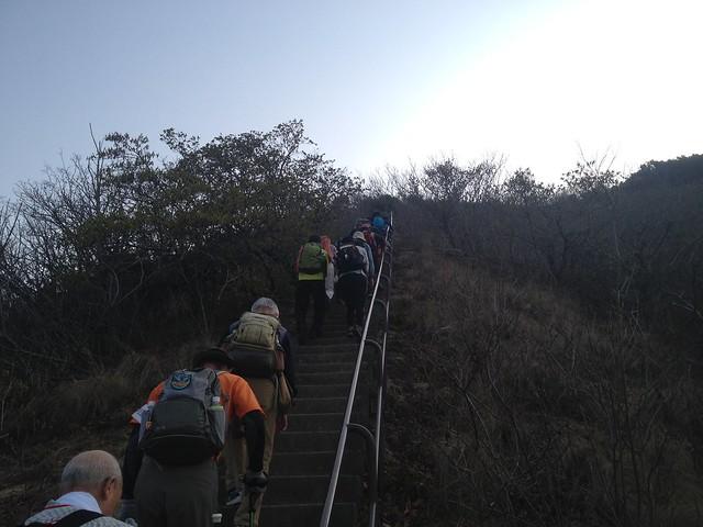 六甲全山縦走路 栂尾山 400階段
