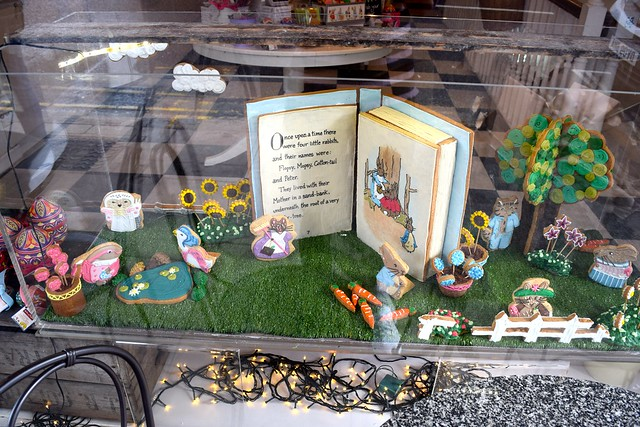 Biscuiteers Beatrix Potter Window Display