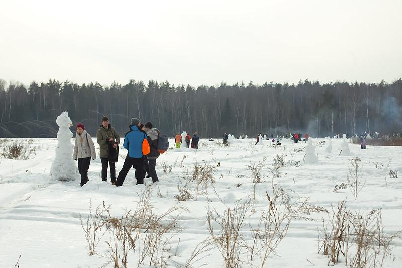 Масляница_долина снеговиков