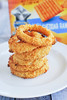 Baked Cheddar Ranch Onion Rings