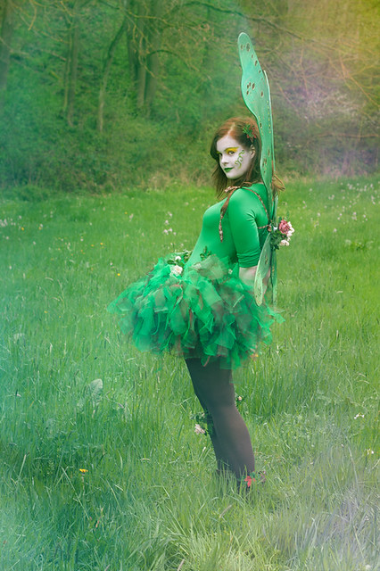 shy fairy?