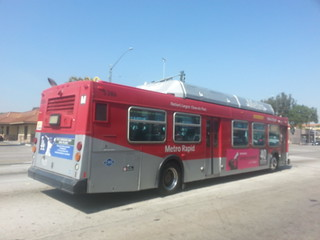 LACMTA Metro Rapid New Flyer C-40LF #5386