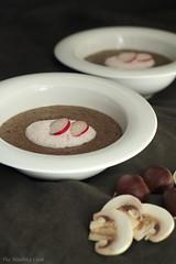 Chestnut, Mushroom and Horseradish Soup – Σού…