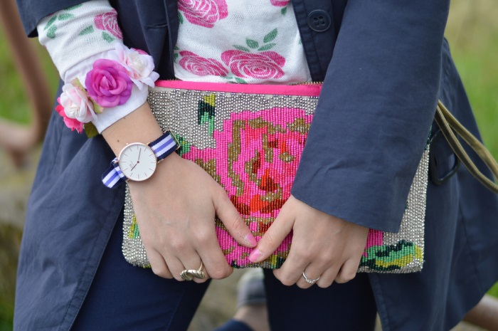 pink, wildflower girl, fashion blog, outfit, daniel wellington (10)