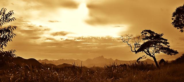 Momento mágico. BR-495 Teresópolis-Itaipava